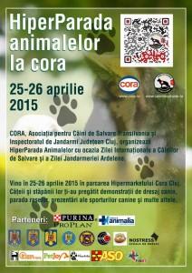 Hiperparada Animalelor la Cora 2015